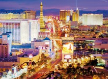 Clementoni Puzzle High Quality Collection Las Vegas 6000 Elementów 36510