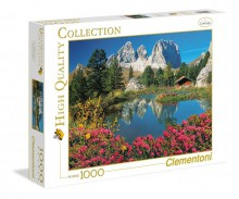 Clementoni Puzzle High Quality Collection Passo Pordoi with a view Sassolungo 1000 Elementów 39273