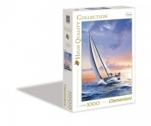 Clementoni Puzzle High Quality Collection Sail Boat 1000 Elementów 39208