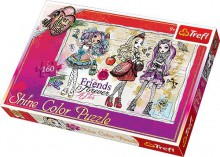 Trefl Puzzle Shine Color Ever After High Uczennice 160 Elementów 30006