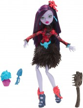 Mattel Monster High Kwietne Upiorki Jane Boolittle CDC05 CDC06