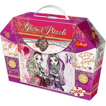 Trefl Puzzle Ever After High Glam Apple i Raven 100 Elementów 14806