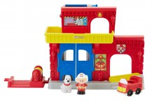 Fisher Price Little People Remiza Strażacka BGC67