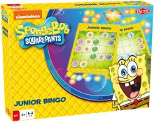 Tactic Sponge Bob Gra Junior Bingo 52737