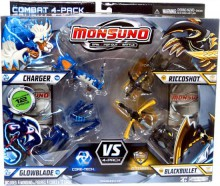 Mattel Monsuno Kapsuła 4-Pak Core-Tech vs. S.T.O.R.M. Y8049 24980