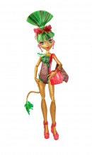 Mattel Monster High Upiory na Basenie Jinafire Long CBX53 CBX56