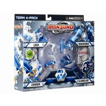 Mattel Monsuno Kapsuła 4-Pak Team Pack Core-Tech Y8049 24980