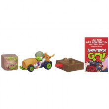 Hasbro Angry Birds Go! Jenga Corporal Pig's Roadster A6430 A6432