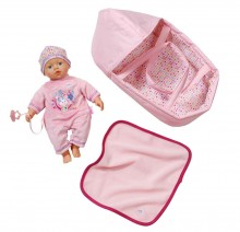 Zapf Creation Little Baby Born Super Soft with Sleeping Bag 820322