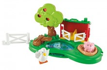 Fisher Price Little People Zagroda dla Świnek i Staw Y8199