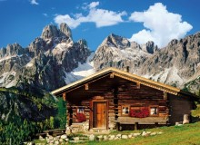 Clementoni Puzzle High Quality Collection Austria The mountain house 1000 Elementów 39297