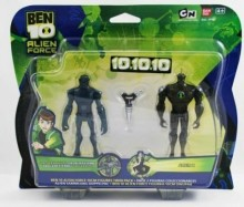 Bandai Ben10 Zestaw Dwóch Figurek 10 cm Forever Knight & Alien X 97160