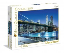 Clementoni Puzzle High Quality Collection Nowy Jork 1500 Elementów 31804