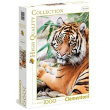 Clementoni Puzzle High Quality Collection Sumatran Tiger 1000 Elementów 39295