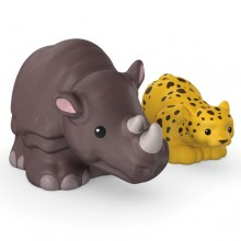 Fisher Price Little People Zwierzaki Dwupak Nosorożec i Leopard CHF33 CHF20