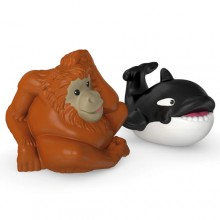 Fisher Price Little People Zwierzaki Dwupak Orka i Orangutan CHF33 CHF19