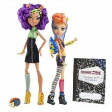 Mattel Monster High Dwupak Clawdeen Wolf & Howleen Wolf X5227