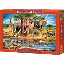 Castorland Puzzle At The Water's Edge Na brzegu 500 el. 52035