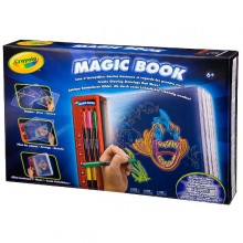 CRAYOLA Glow Magic Book 74-6000