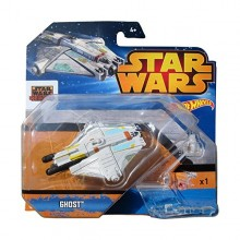 Mattel Hot Wheels Star Wars Statek Kosmiczny Ghost CGW52 CGW62