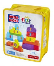 Mega Bloks First Builders Liczymy 1-2-3! DLH85
