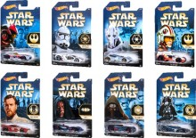 Mattel Hot Wheels Star Wars Samochodziki CKJ41