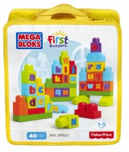 Mega Bloks First Builders Ćwiczymy ABC! DKX58