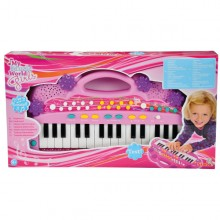 Simba My Music World MMW Girls Keyboard 106830692