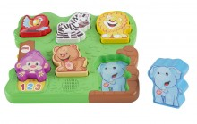 Fisher Price Puzzle Malucha Wesołe Zoo DLB27 DLB26