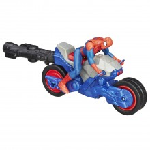 Hasbro Spiderman Ścigacz Blast&Go Spider Cycle B5759 B6638