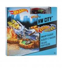 Mattel Hot Wheels Mały Zestaw Zmieniający Kolor Jeźdźcy z Bagien BHN12 BHN14