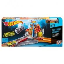 Mattel Hot Wheels Tory Wyczynowe Niszczarka X2604 CDK91
