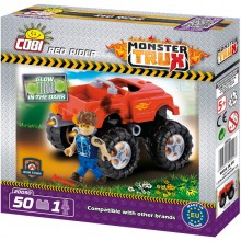 Cobi Monster Trux Red Rider z Figurką 20050