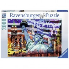 Ravensburger Puzzle New York Collage 2000 Elementów 166879