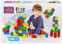 Mega Bloks First Builders Imagination Building 100 Elementów CXP09