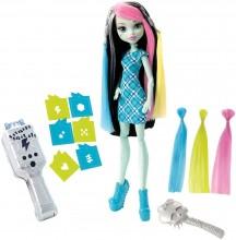 Mattel Monster High Elektryzujące Włosy Frankie DNX36