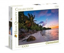 Clementoni Puzzle HQ Tropical Idyll 1000 Elementów 39337