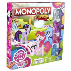Hasbro Gra Monopoly Junior My Little Pony B8417