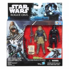 Hasbro Star Wars S1 Rogue One Figurka 10 cm Death Trooper + Command Pao B7073 B7259