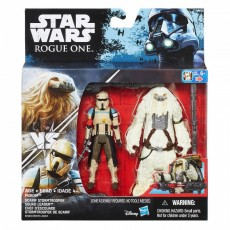 Hasbro Star Wars S1 Rogue One Figurka 30 cm Scarif Stormtrooper + Moroff B7073 B7261
