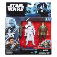 Hasbro Star Wars S1 Rogue One Figurka 30 cm Snowtrooper Officer + Poe Dameron B7073 B8612