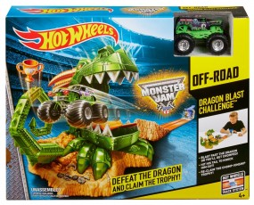 Mattel Hot Wheels Monster Jam Smoczy Tor CCP74