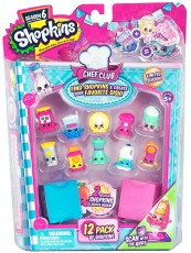 Formatex Shopkins S6 Chef Club 12-pak 56144