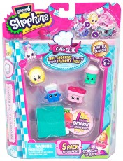 Formatex Shopkins S6 Chef Club 5-pak 56331