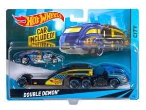 Mattel Hot Wheels Ciężarówka Double Demon BDW51 CGC22
