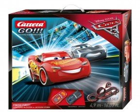 Carrera GO!!! Cars 3 Finish First! 62418