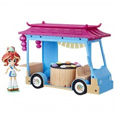 Hasbro My Little Pony Equestria Girls Mini zestaw Sushi Truck Sunset Shimmer C1840