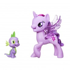 Hasbro My Little Pony Twilight Śpiewająca ze Spikem C0718