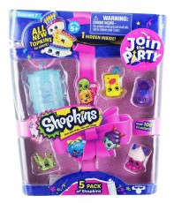 Formatex Shopkins Party S7 5-pack FOR56354