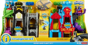 Fisher Price Imaginext Latające Miasto Batmana i Supermana DHT62